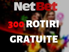 300 Rotiri Gratuite