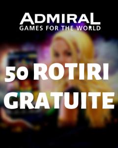 admiral casino rotiri gratuite
