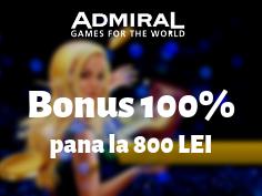 bonus depunere admiral casino