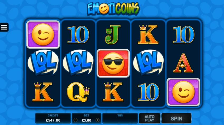 EmotiCoins aduce emoji din Messenger in cazinouri