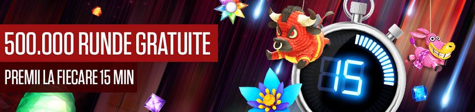 Pana la 1.900 de runde gratuite, la turneele NetBet!
