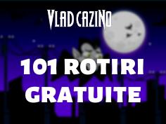 101 rotiri gratuite