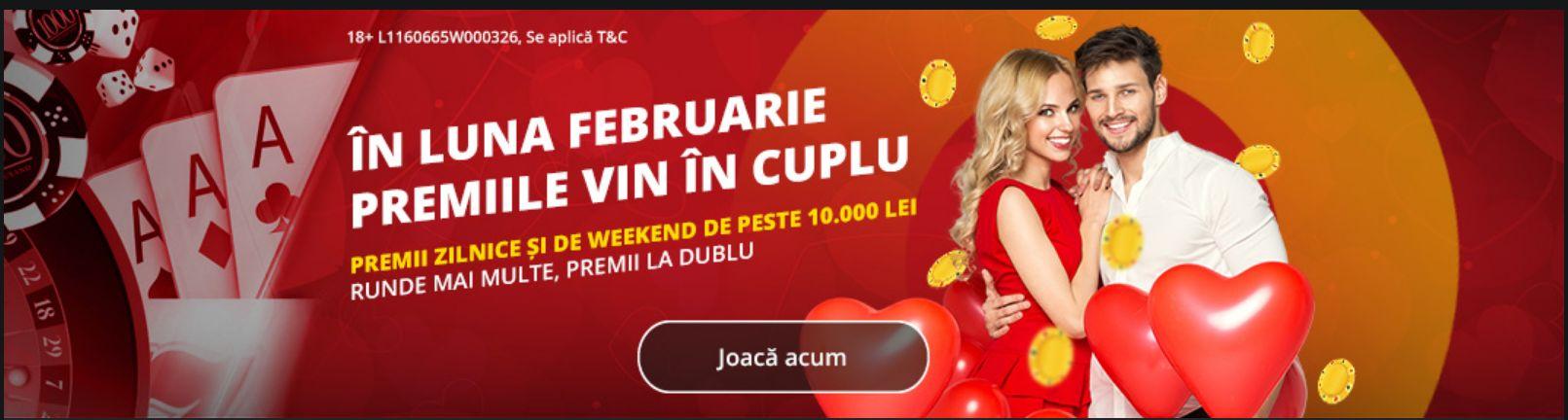 Cateva zile in care mai puteti participa la promotia V'Day