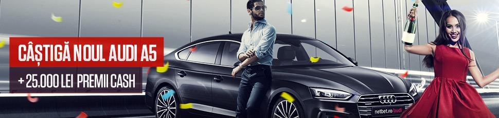 NetBet pune un nou Audi la bataie!