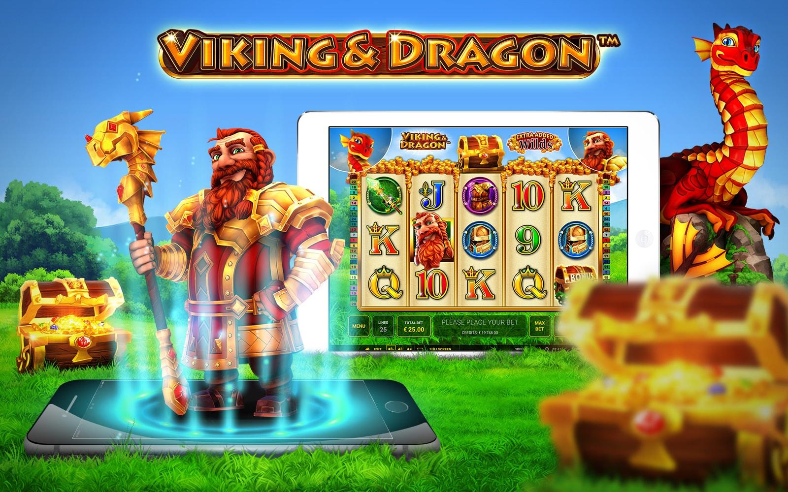 Admiral Cazino – cel mai nou slot Viking & Dragon
