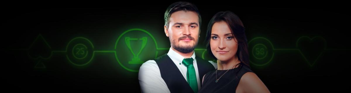 Premii in valoare de 250.000 RON la cazino live Unibet