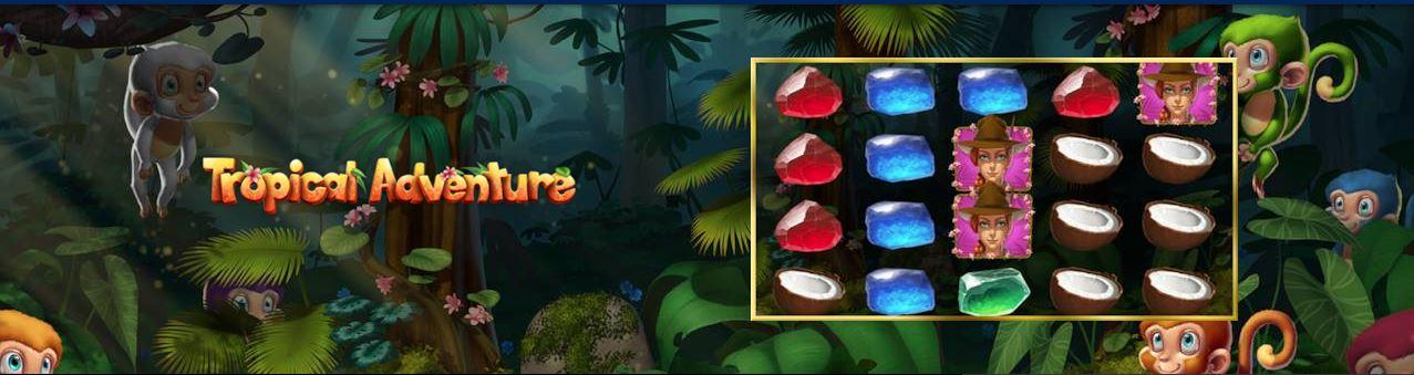 Tropical Adventure – slotul cu exploratori de la Admiral Cazino
