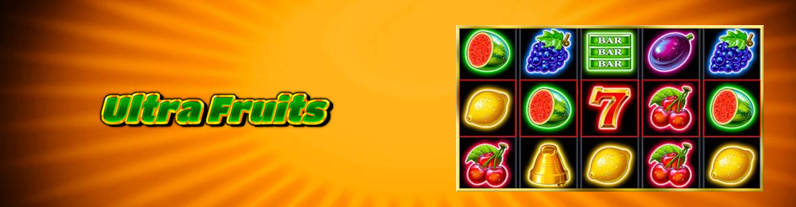 Jackpot de 812.639 RON la Ultra Fruits de la Admiral Cazino