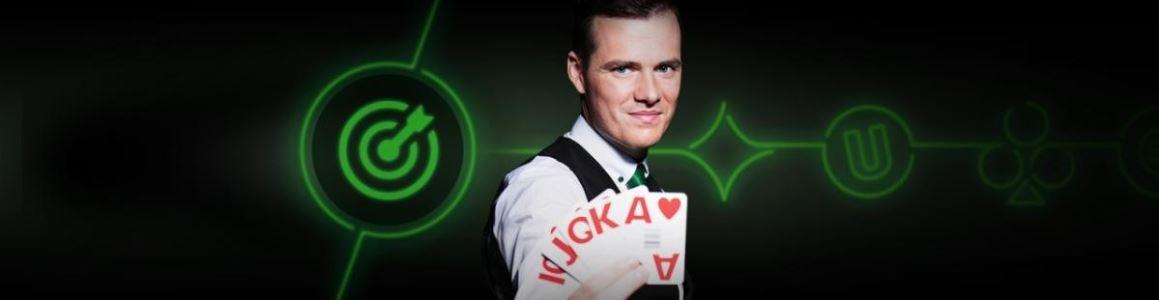 Provocare Blackjack de 17.500 RON la Unibet
