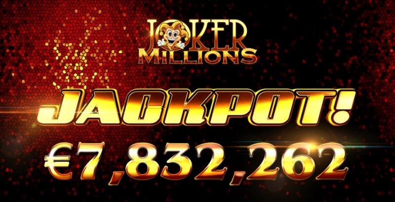 Castig record de €7.8M la Joker Millions de la Yggdrasil