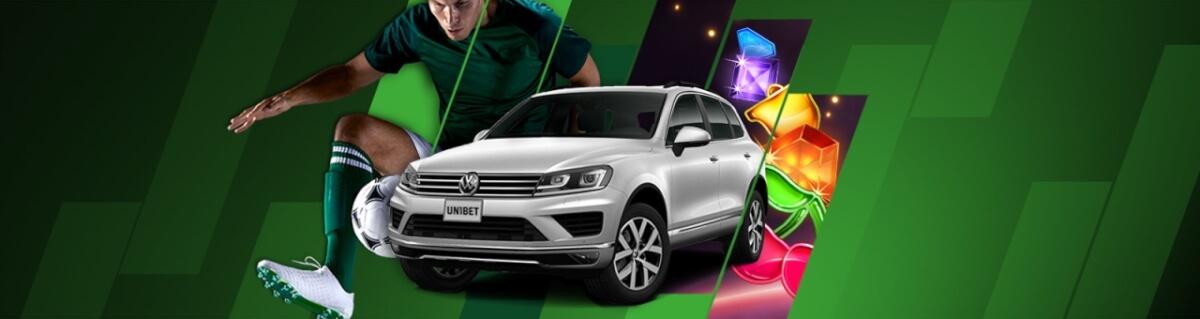 Volkswagen Touareg si alte 499 de premii de la Unibet