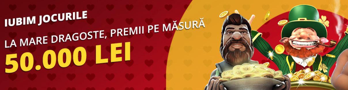 50.000 LEI la casinoul eFortuna pentru jucatori