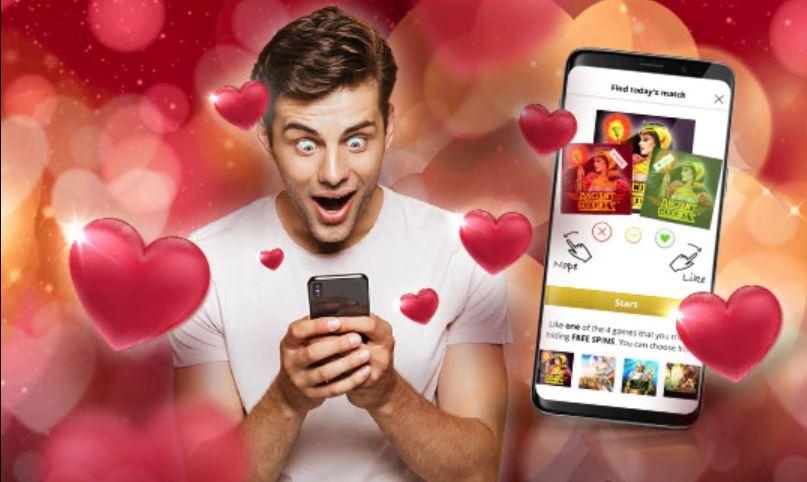 Free Spins de Valentine's Day de la Admiral Casino