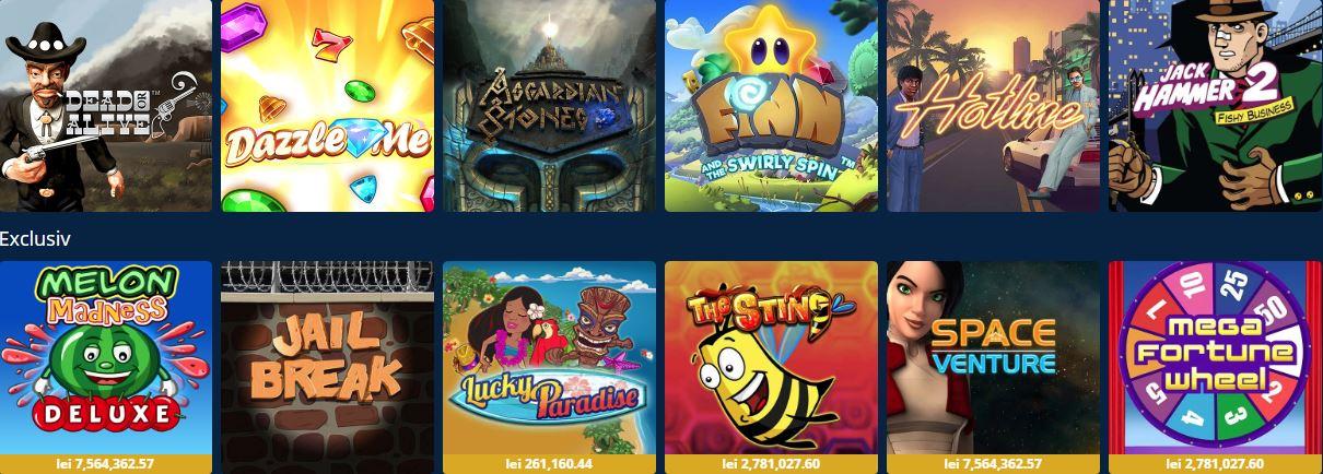 Sportingbet adauga noi jocuri de la Netent in cazinoul online