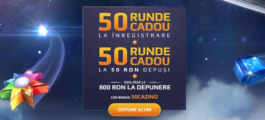 100 rotiri gratuite si 800 RON bonus la NetBet