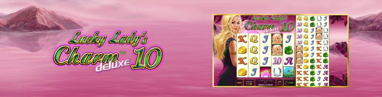 Lucky Lady's Charm Deluxe 10 – O noua versiune a slotului la Admiral Casino