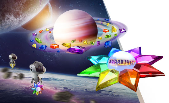 Castiga sute de runde gratuite la Starburst de la NetBet