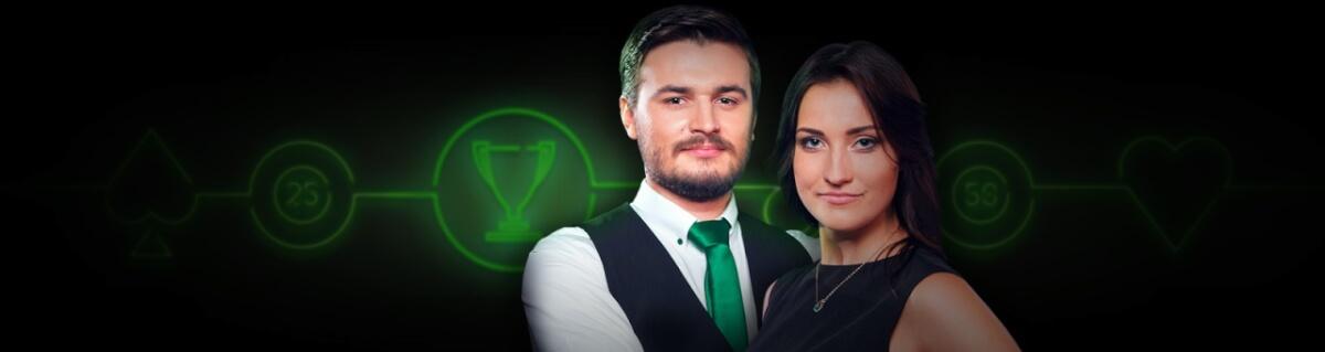 375.000 RON in cel mai nou turneu de cazino live de la Unibet