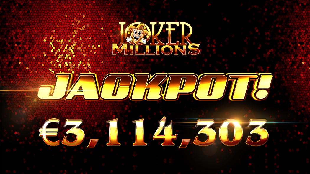 3.1 milioane de euro castigate la Joker Millions
