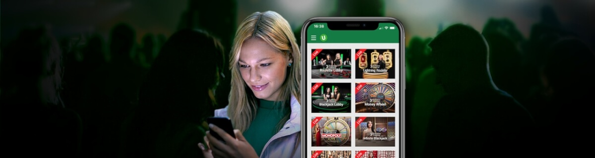 Castiga un pariu fara risc daca joci la Live Cazino de la Unibet