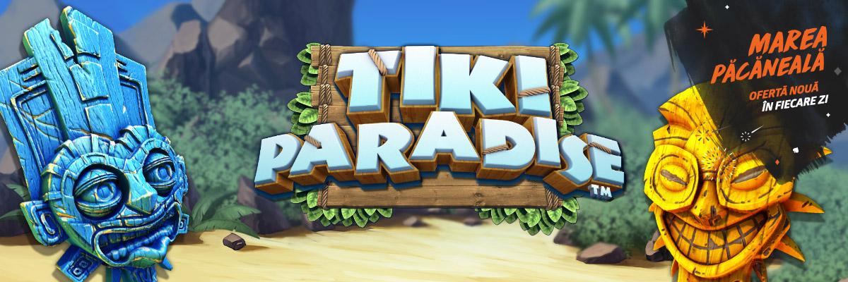 💥 Doar azi: 20 rotiri gratuite la Tiki Paradise!