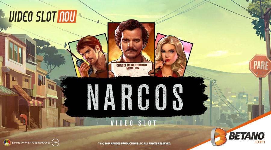 Narcos – Cel mai nou slot din cazinoul Betano