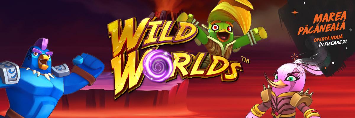 ? Doar azi: 15 rotiri gratuite la Wild Worlds