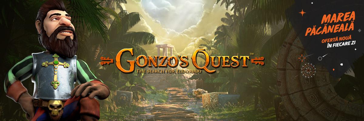 ⏰ Doar azi: 5 rotiri gratuite la Gonzo's Quest!