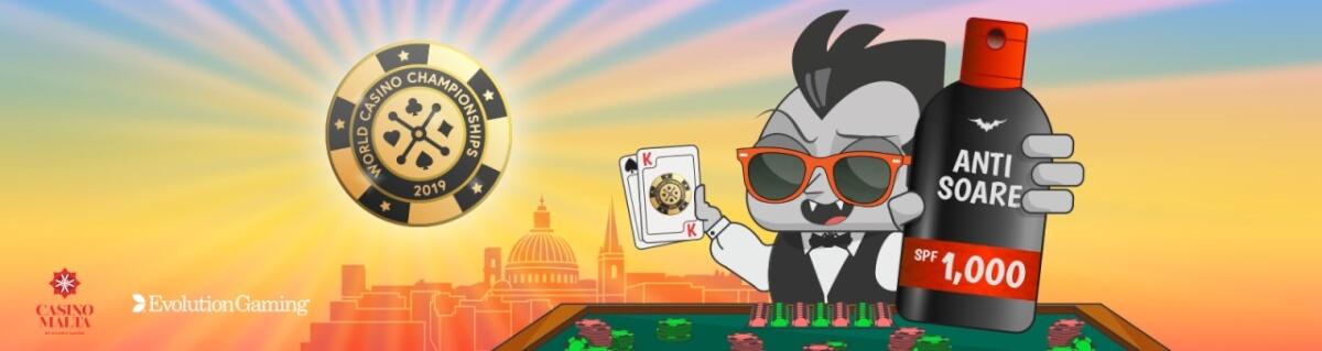 Joaca Blackjack si castiga un pachet la World Casino Championship