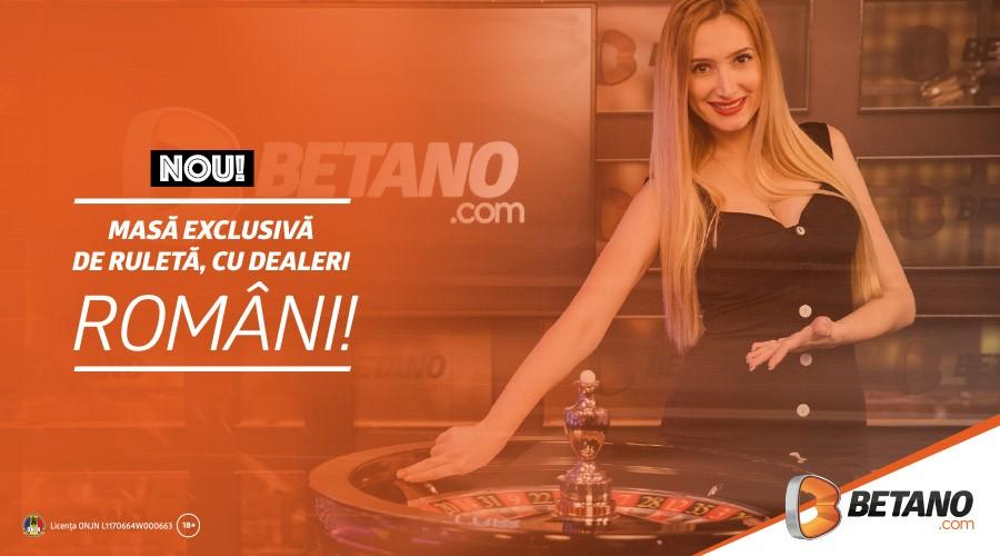 Mese exclusive de Ruletă și Blackjack în Cazinoul Betano