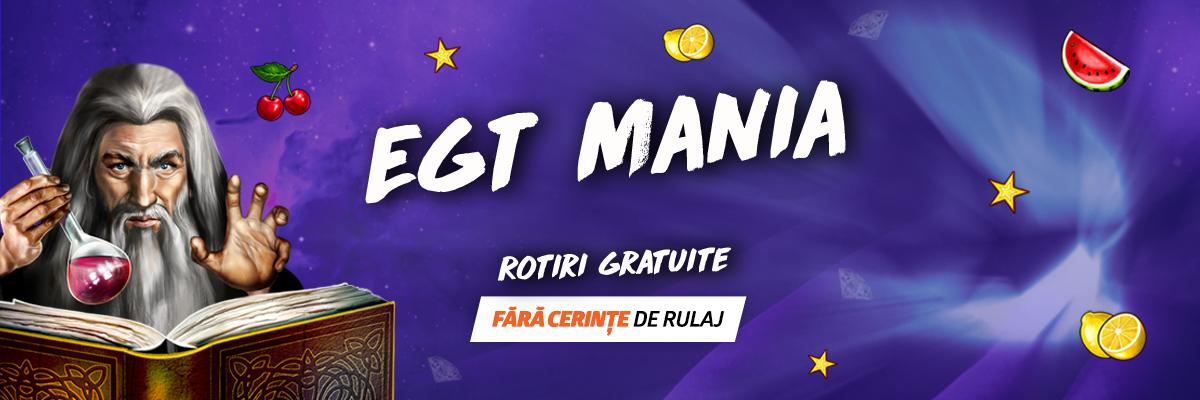 EGT Mania Betano – Bani Cash fara cerinte de rulaj
