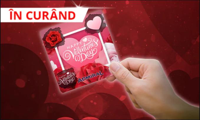 Rotiri Gratuite de Valentine's Day de la Admiral Casino